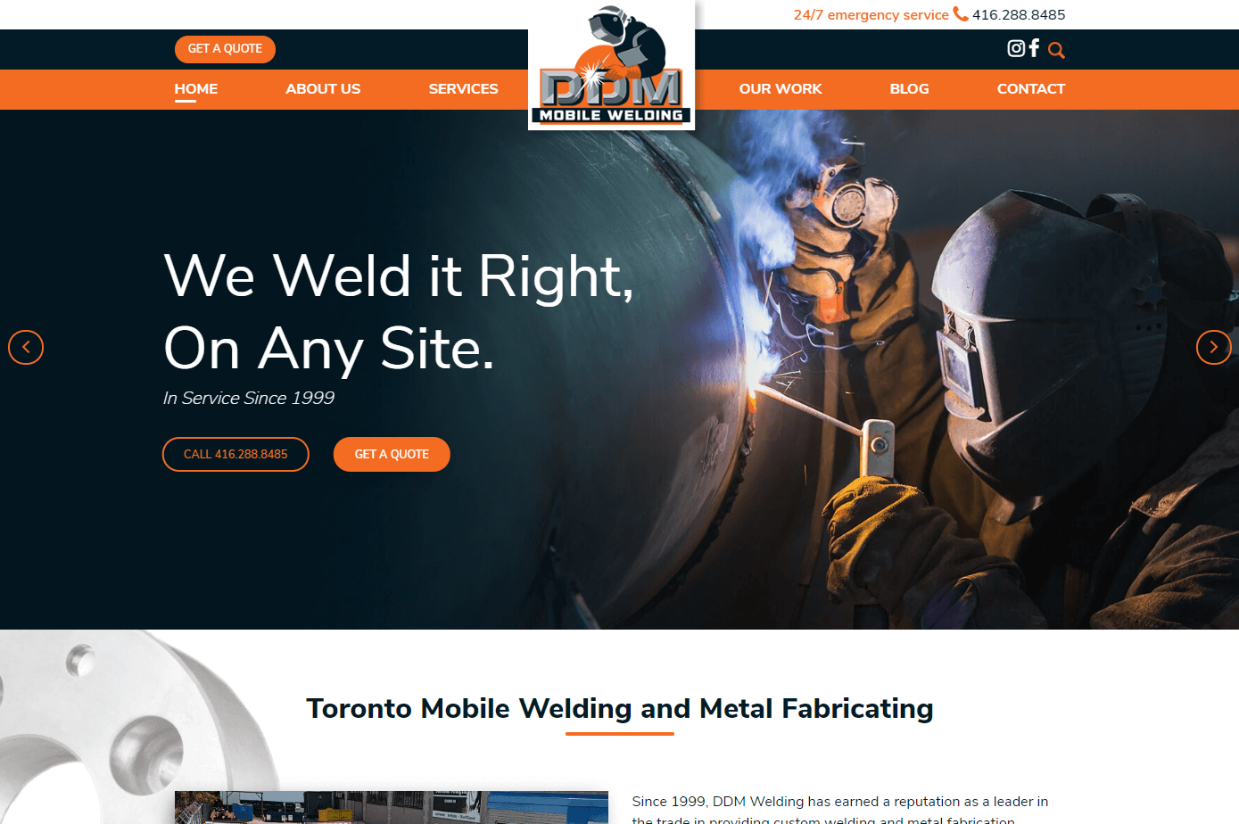 DDM Mobile Welding