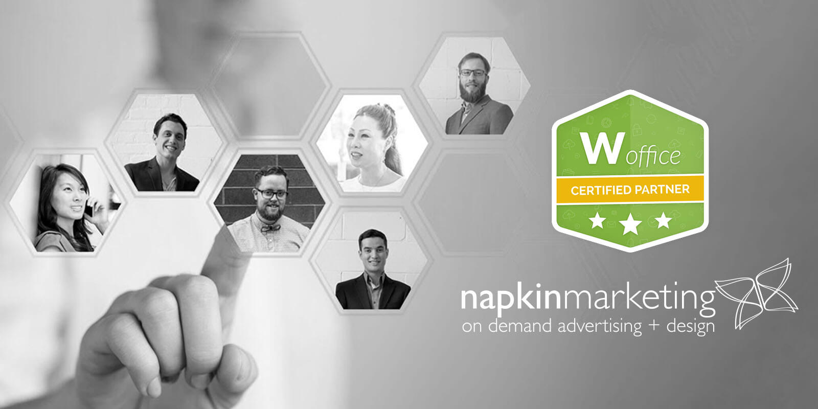 napkin marketing announces new partnership with Woffice – world's leading wordpress intranet provider