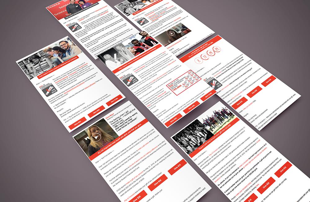 Seneca College Content Creation Email Marketing Napkin Marketing